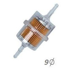 Filtro de gasolina universal de 9 mm