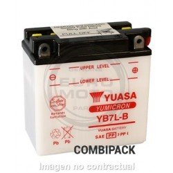 Batería YB7L-B Yuasa Combipack