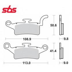 Pastillas de freno SBS Yamaha X-Enter, Bw´s 125 desde 2010
