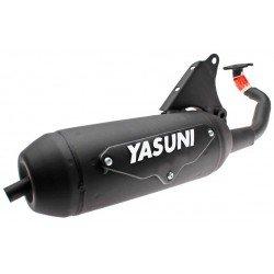 Escape tipo original Yasuni Minarelli Horizontal AC/LC 2T Aerox / Jog / SR TUB010