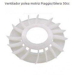 Polea ventilador variadores Piaggio 50