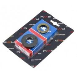 Kit cojinetes y retenes cigueñal Minarelli / Yamaha 50c.c 2T
