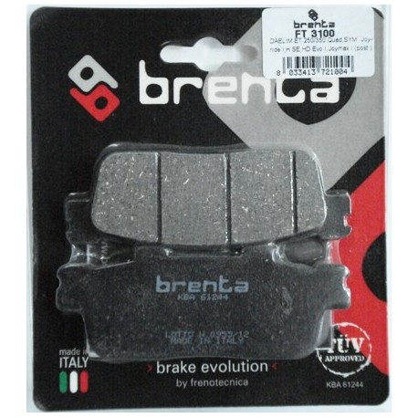 Pastillas de freno Brenta FT 3100