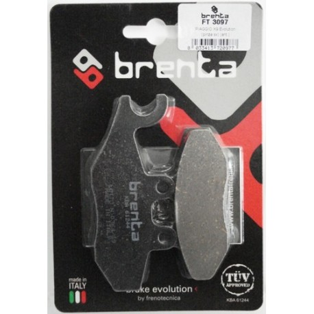 Pastillas de freno Brenta FT 3097