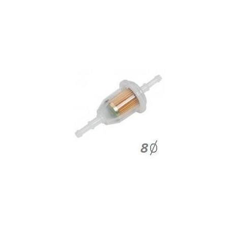 Filtro de gasolina universal grande de 8 mm