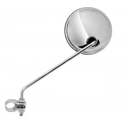 Espejo universal para manillar. Redondo 105 mm