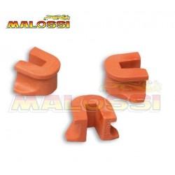 Juego guias variador Malossi. Para variadores Multivar 2000. Rodillos grandes (19x15,5)