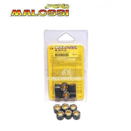 Rodillos variador 15x12. 6 Unidades. Malossi