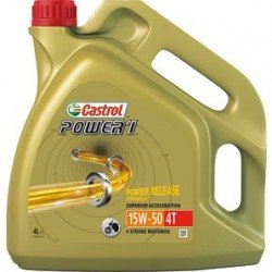 Aceite Castrol Power 1 4T 15w-50. 4L