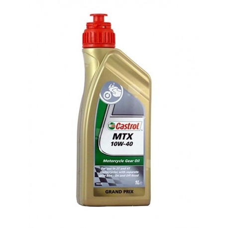 Aceite Castrol embragues MTX Sae 10W-40