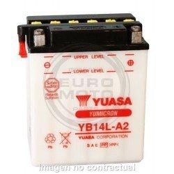 Batería YB14L-A2 Yuasa Combipack