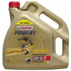 Aceite Castrol Power 1 4T 20w-50. 4L
