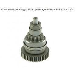 Bendix arranque motores Piaggio 125 antiguos ( Sfera, Hexagon...)