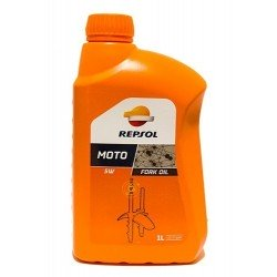 Aceite Horquillas Repsol Moto Fork Oil Sae 5W