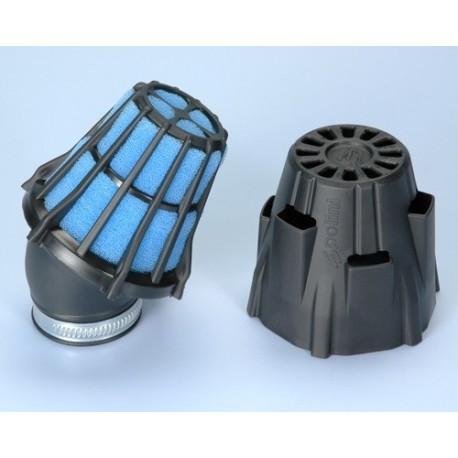 Filtro Potencia Polini Air Box entrada de 46 mm con curva