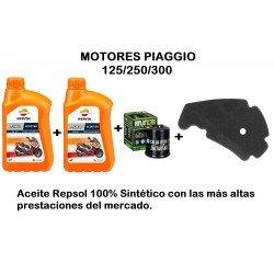 Kit revisión Motor Piaggio 125/250/300 c.c