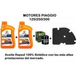 Kit revisión Motores Piaggio 125/250/300 c.c