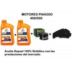 Kit revisión Motor Piaggio 400/500 c.c