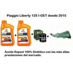 Filtro de aire Piaggio Liberty 125 I-GET desde 2015