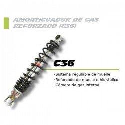 Amortiguador trasero gas FORZA con regulación Aprilia Arrecife/Atlantic 125/250 -09