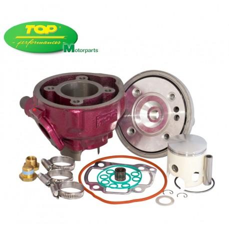 Equipo motor Top (Rosa) Minarelli Horizontal LC Ø47mm. Con culatin